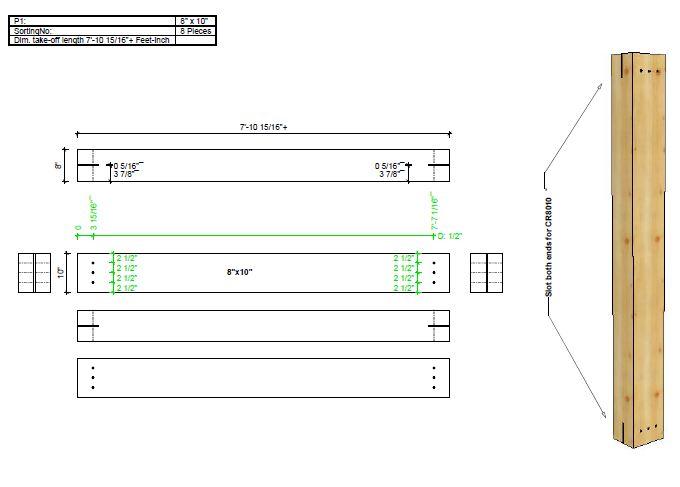 20x16 T-Rex Porch Plan Overview