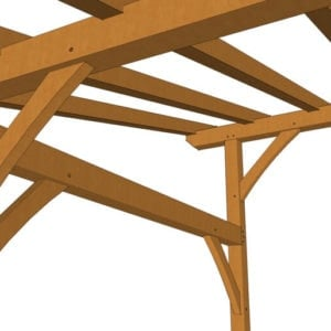 16x24 Shed Roof Plan