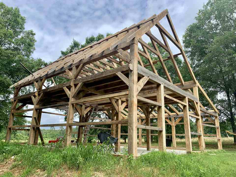 Nick Guilbeau Yellow Pine Lean-to Cabin
