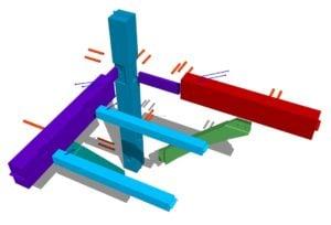 Timber Frame Corner Joint