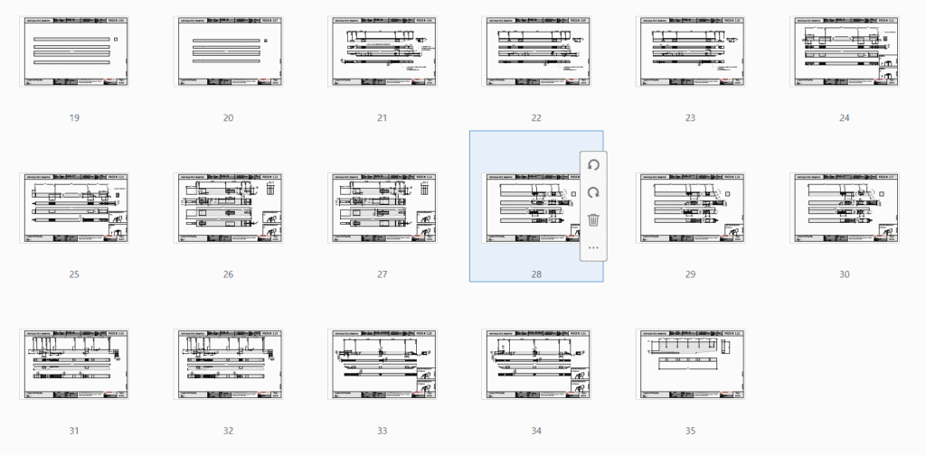 26x36 Timber Frame Carport Plan Overview 2