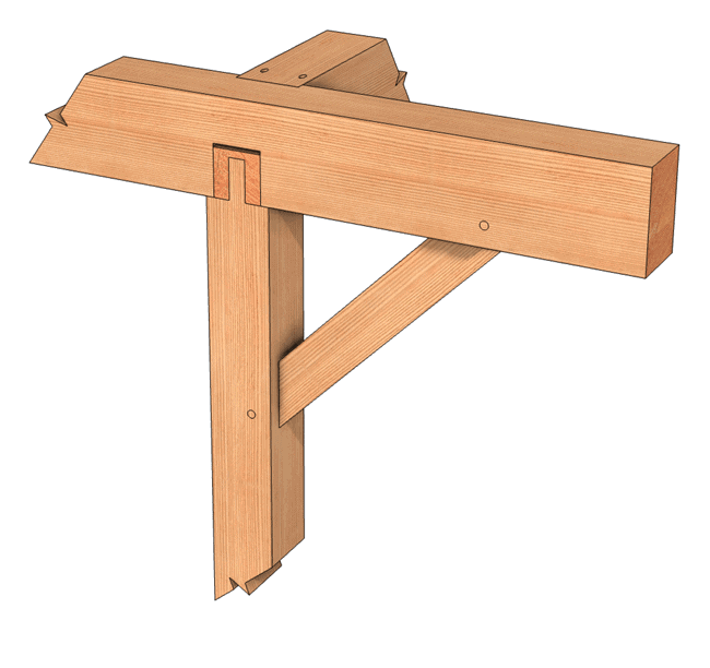 Cross Lap Joint Joined Exterior