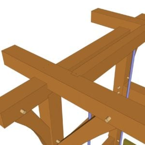 Bedswing (40900) Joinery Closeup