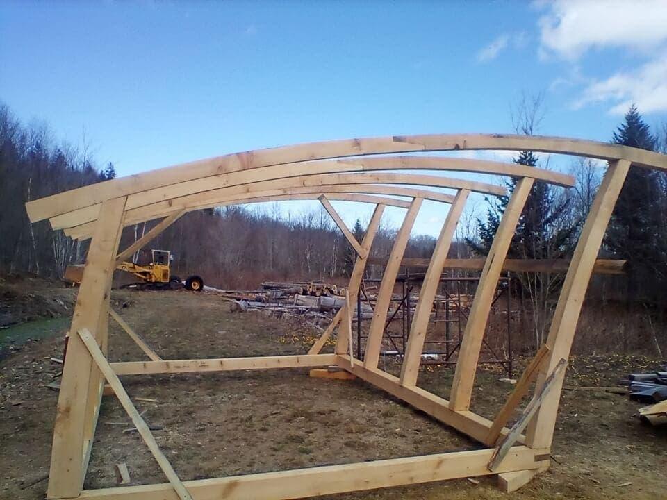 Bench Works White Pine Greenhouse