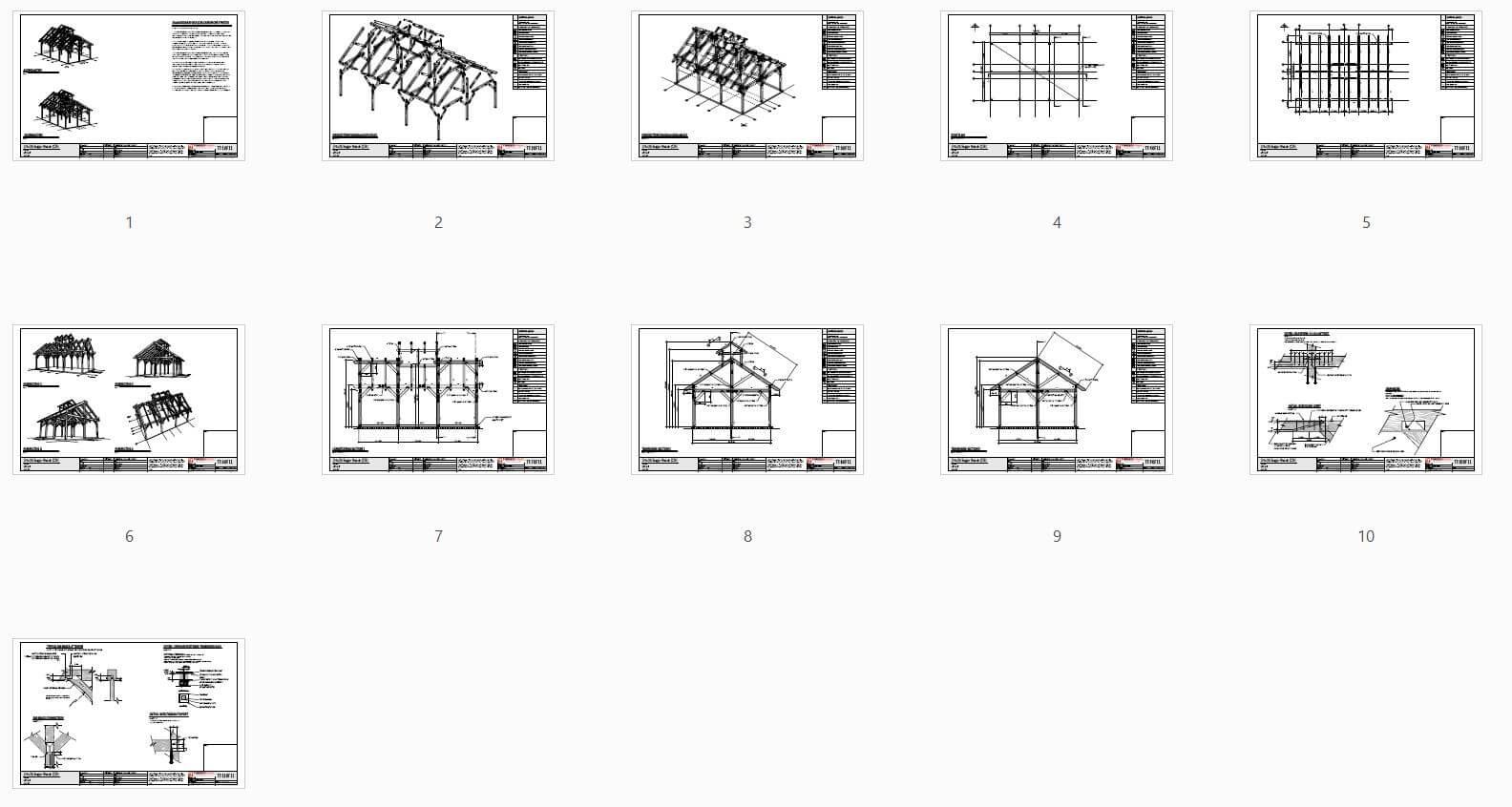 24x36 Sugar Shack Plan (43609) - Plan Overview
